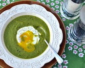 Very Very Green Green-Pea Soup