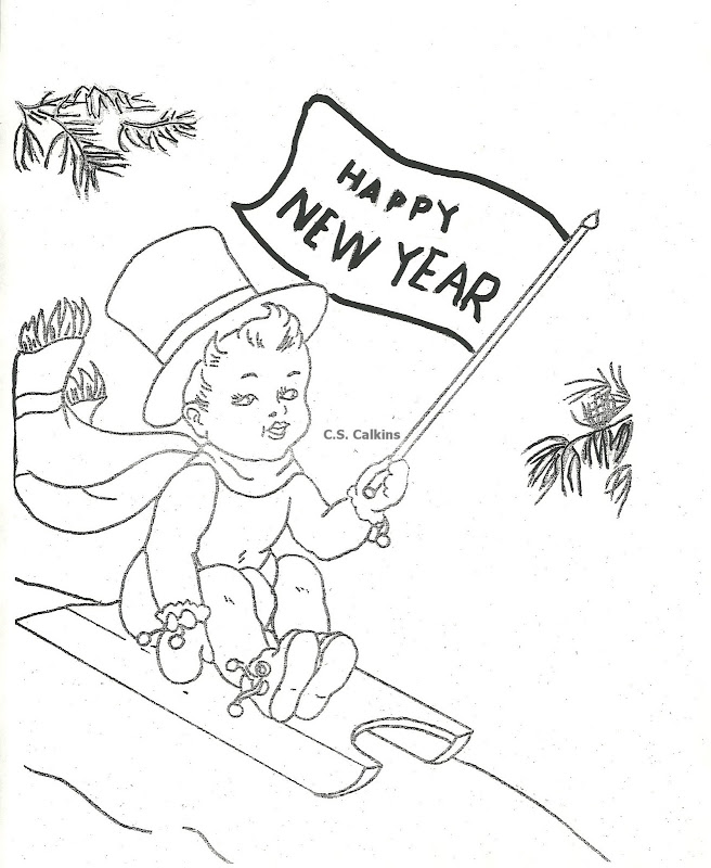 Other image of New Years Ball Coloring Pages: title=