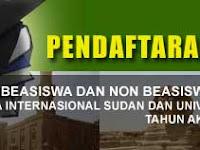 Pendaftaran Online Beasiswa S-1 Sudan dan Mesir Departemen Agama RI, Mei 2012