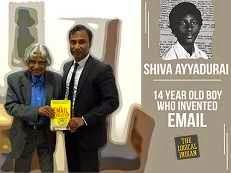 inventor of email V A Shiva Ayyadurai
