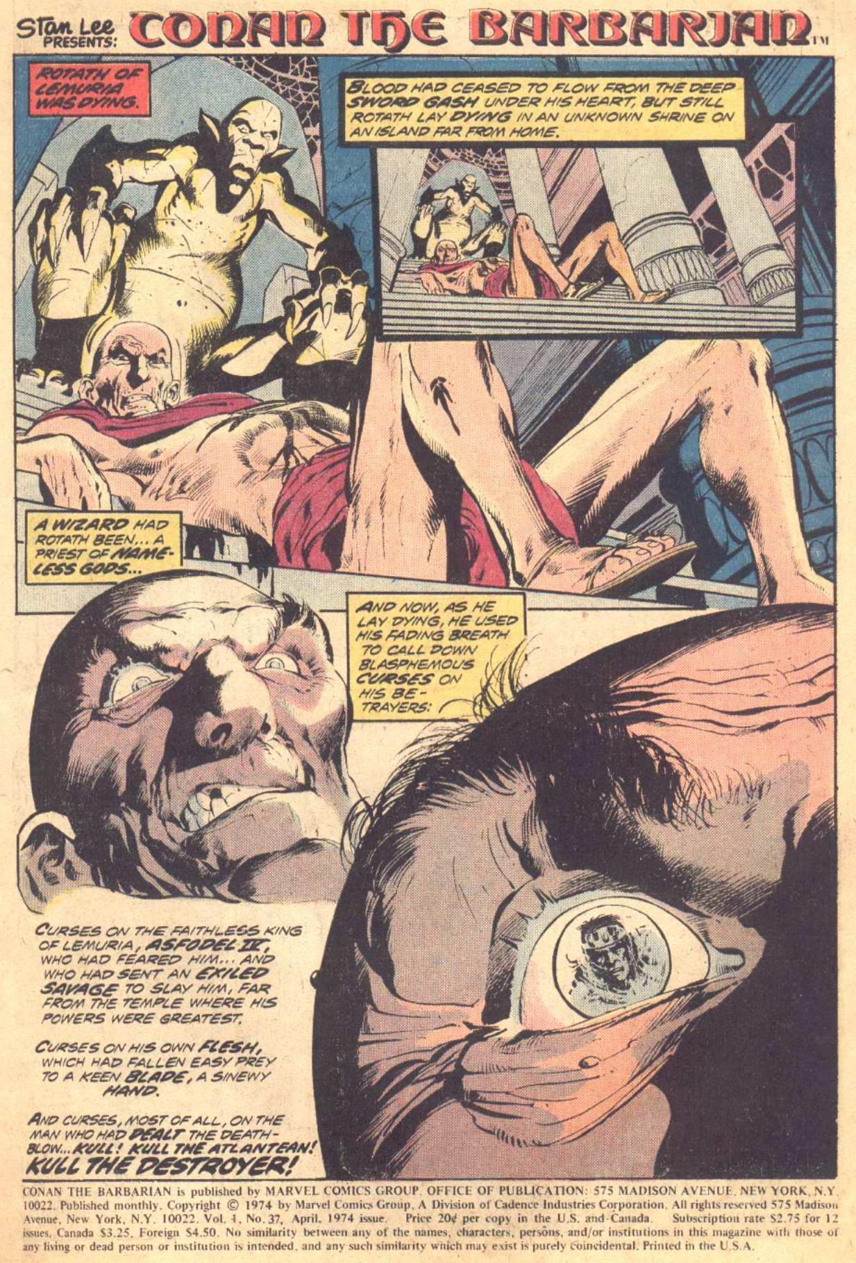 Conan the Barbarian (1970) Issue #37 #49 - English 2