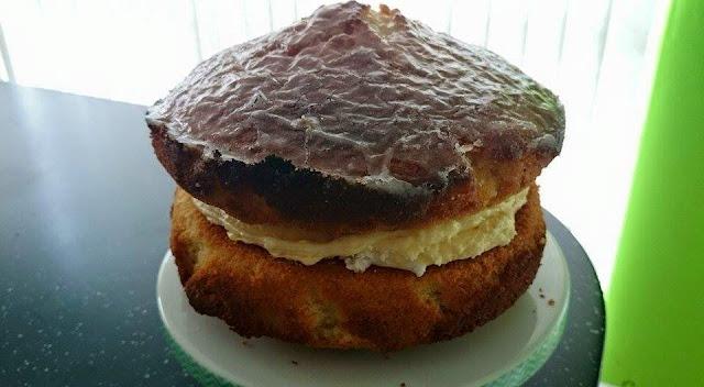 Weekend bake  -  Lemon and Lime Cake