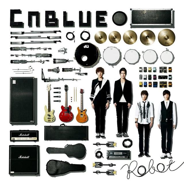 CNBLUE Robot lyrics cover