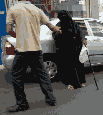Pengemis di Jeddah