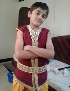 Foto Asli Rudra Soni Pemeran Manav dalam Film Baalveer