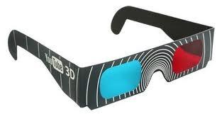 kacamata red cyan nonton film 3d