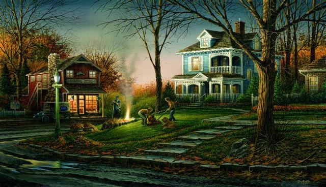 Terry Redlin Autumn Evening8