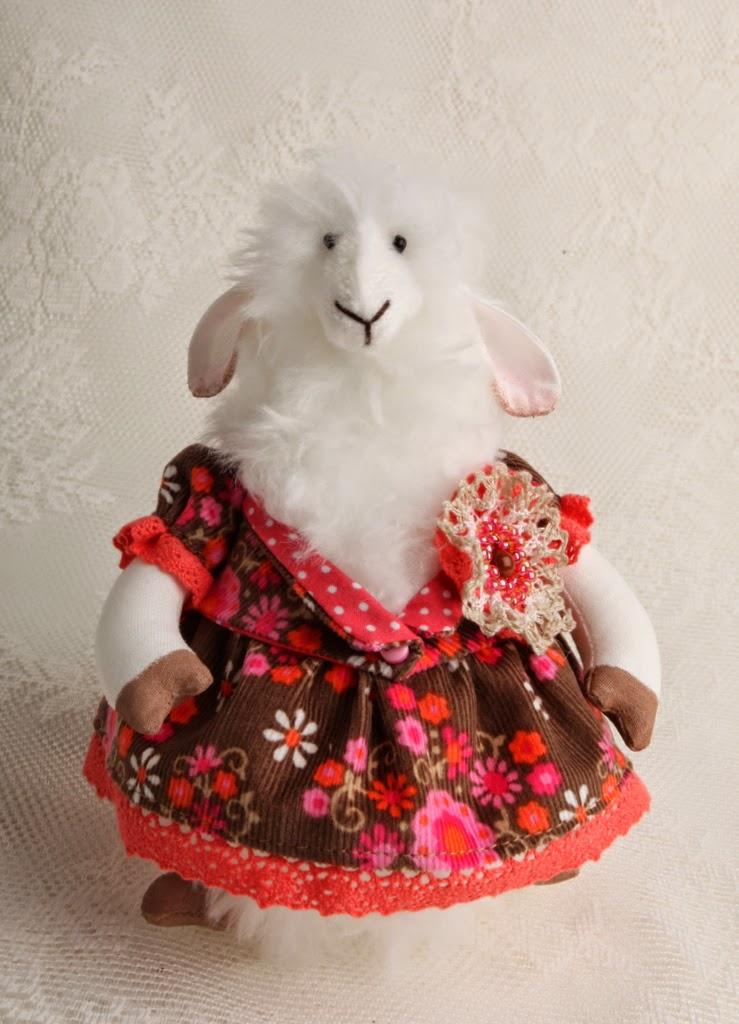 баран овца символ 2014 года платье