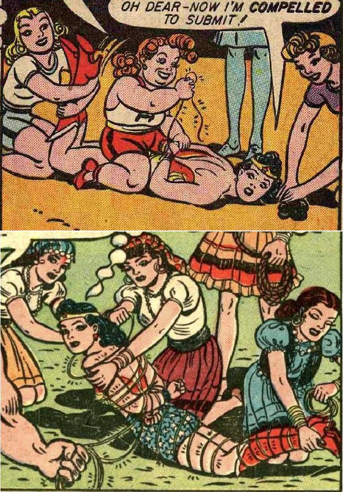 Damsel Land: Wonder Woman Bound Again