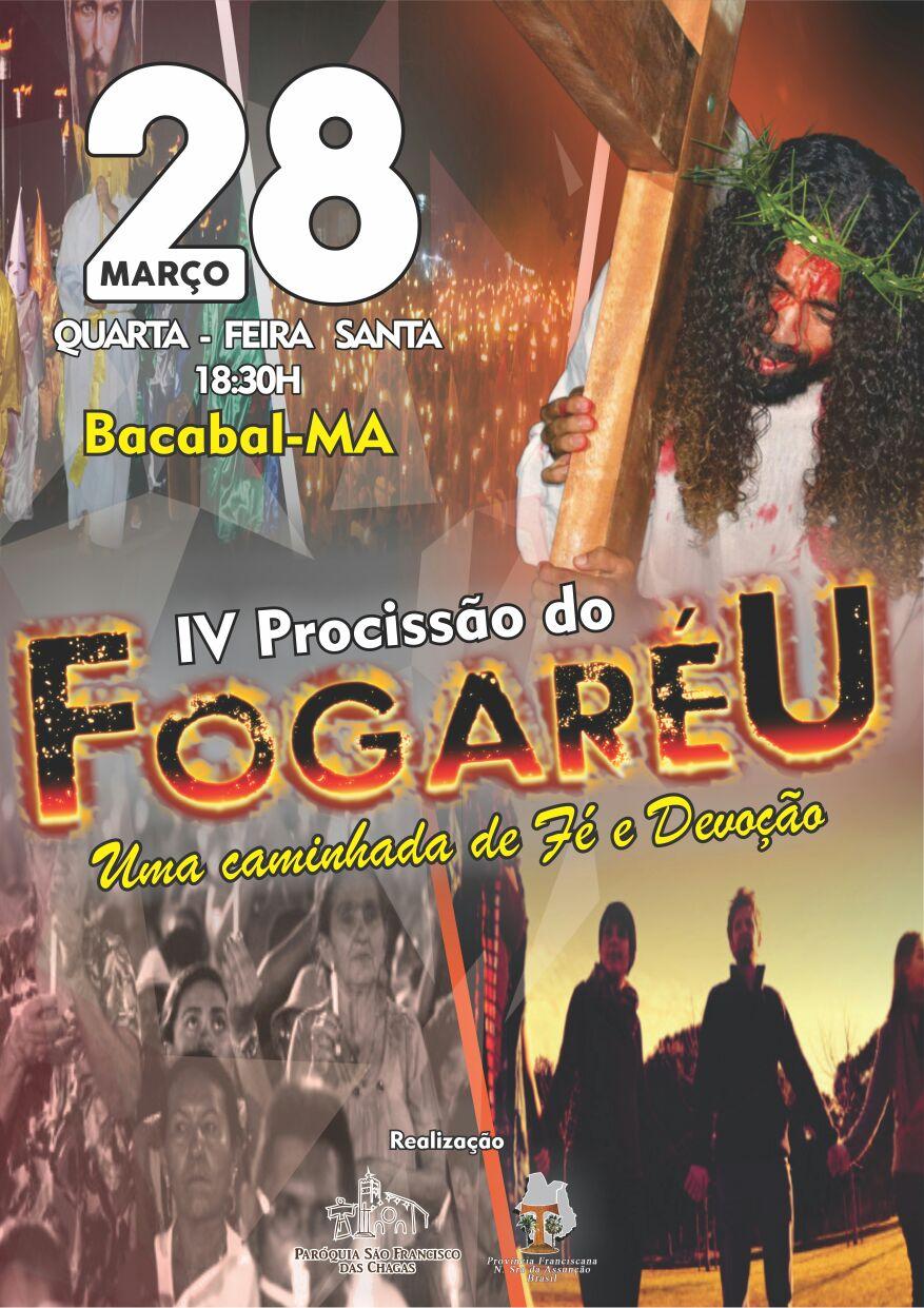 Procissão do Fogaréu 2018 em Bacabal