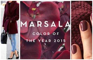 Marsala nails winters