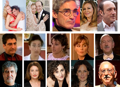 Ana Obregón, Roberto Álvarez, Micky Molina, Javivi, Aurora Sánchez, Isabel Gaudí, Silvia Marsó, Juan Antonio Quintana