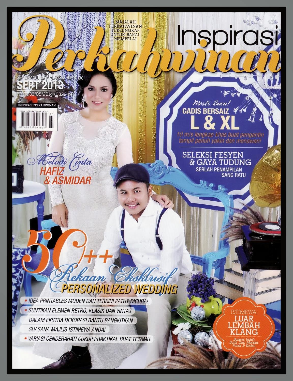 Cover Majalah Inspirasi Perkahwinan - September 2013