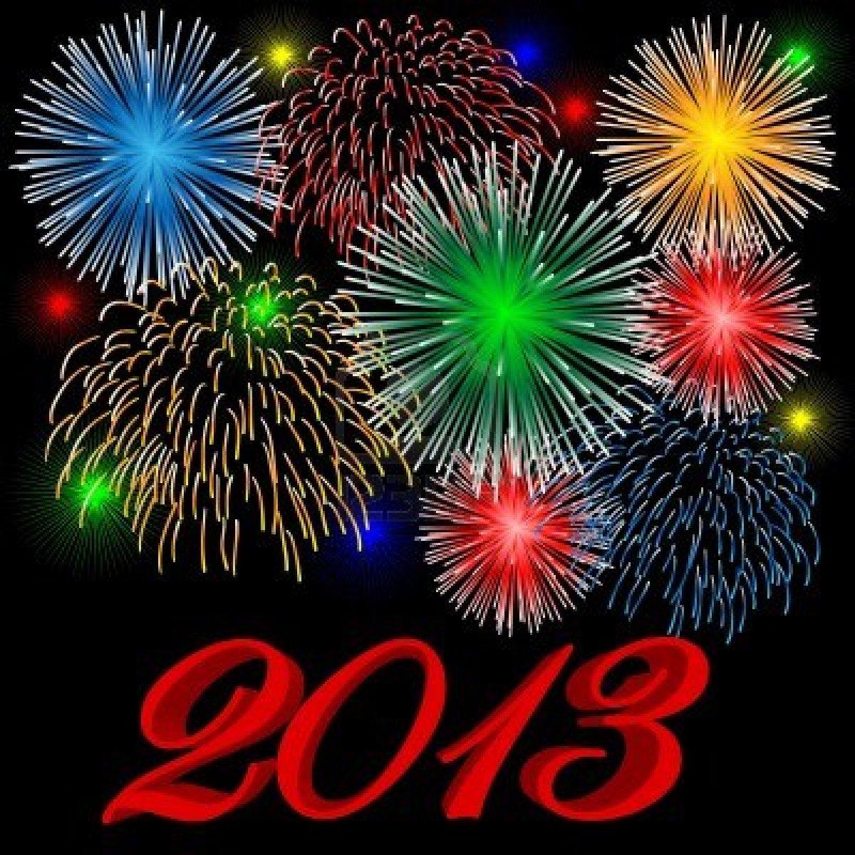 Alles Schall und Rauch: Frohes Neues Jahr 2013