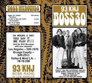 KHJ Boss 30 No. 212 - Charlie Tuna
