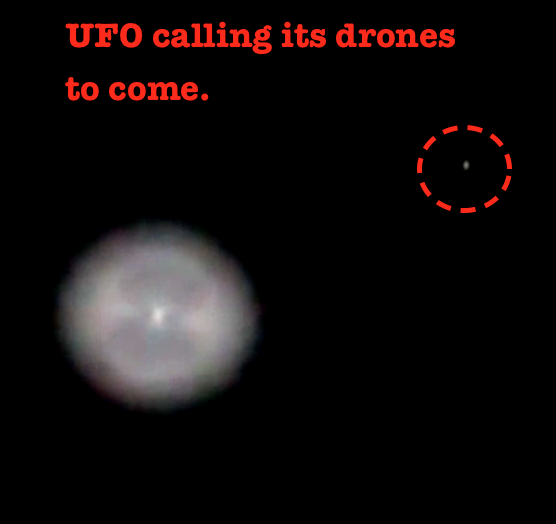UFO Over Zimbabwe  South Africa Big As Moon  But Travels Fast Across Horizon With Many Orbs Surrounding It  Sep       UFO Sighting News