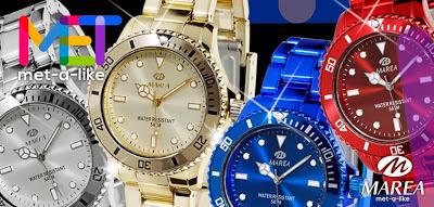 Relojes Marea colección Met-a-Like