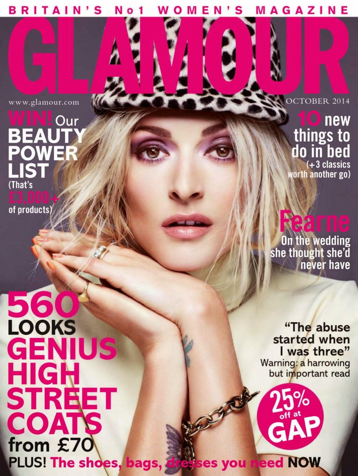Arts Cross Stitch Fearne Cotton Glamour Magazine Uk