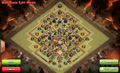 Southern Teaser Base TH11 COC