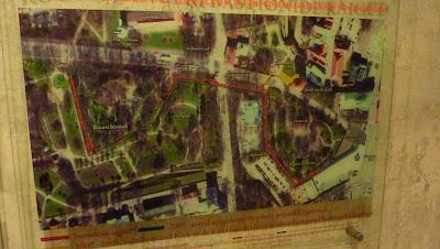 plan des tunnels
