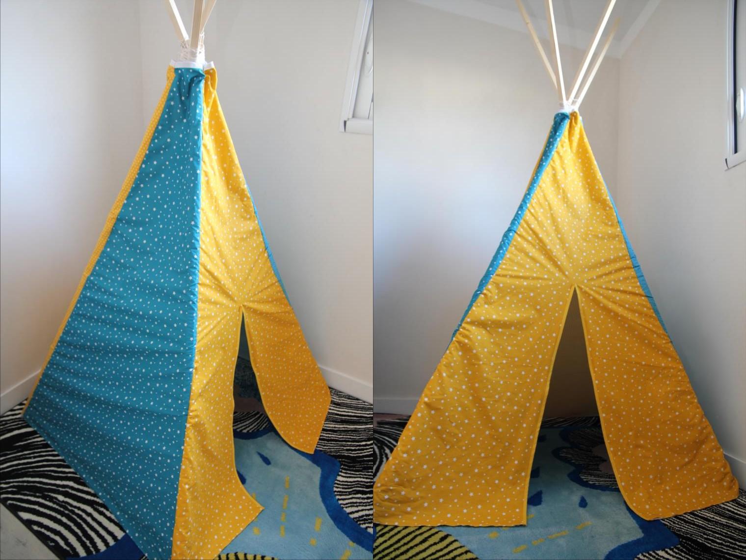 laisse luciefer tuto tipi pour enfants. Black Bedroom Furniture Sets. Home Design Ideas