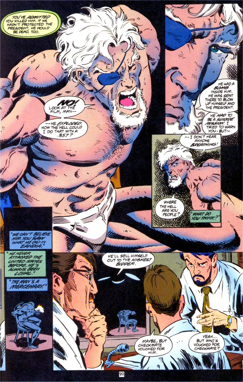 Deathstroke (1991) Issue #0 #5 - English 21
