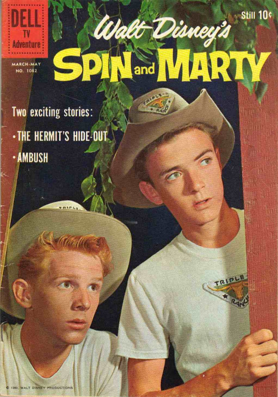 Disney's Spin and Marty magazine cover
