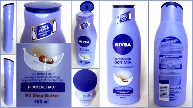 NIVEA Verwöhnende Soft Milk im neuen Gewand