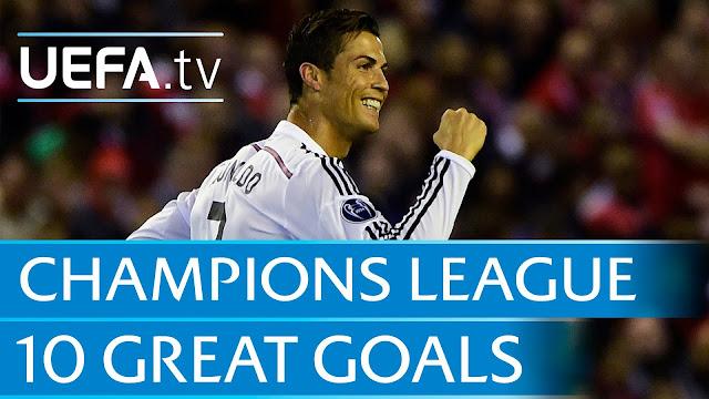 10 Goal Indah dari UEFA Champions League 2014/2015
