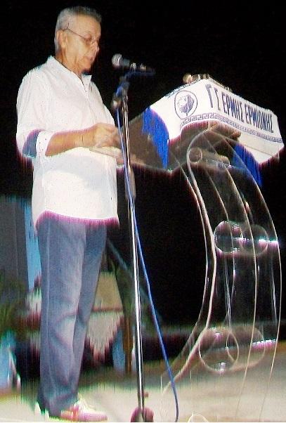 """Αποσπάσματα από την ομιλία του Γιάννη Σπετσιώτη προέδρου του """"Ερμιονικού Συνδέσμου""""...."""