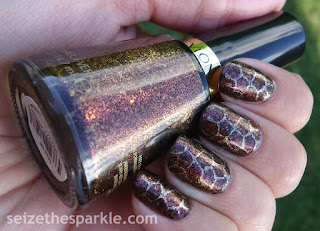Turtle Shell Manicure
