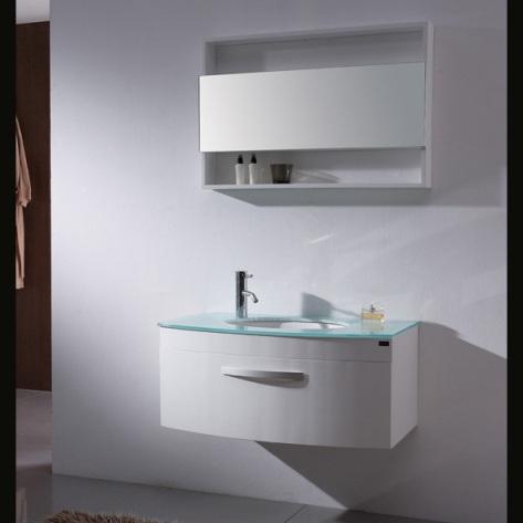 Muebles de ba o de color blanco dise os de ba os - Muebles de bano blanco ...