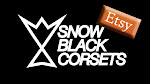 SnowBlack Corsets on Etsy