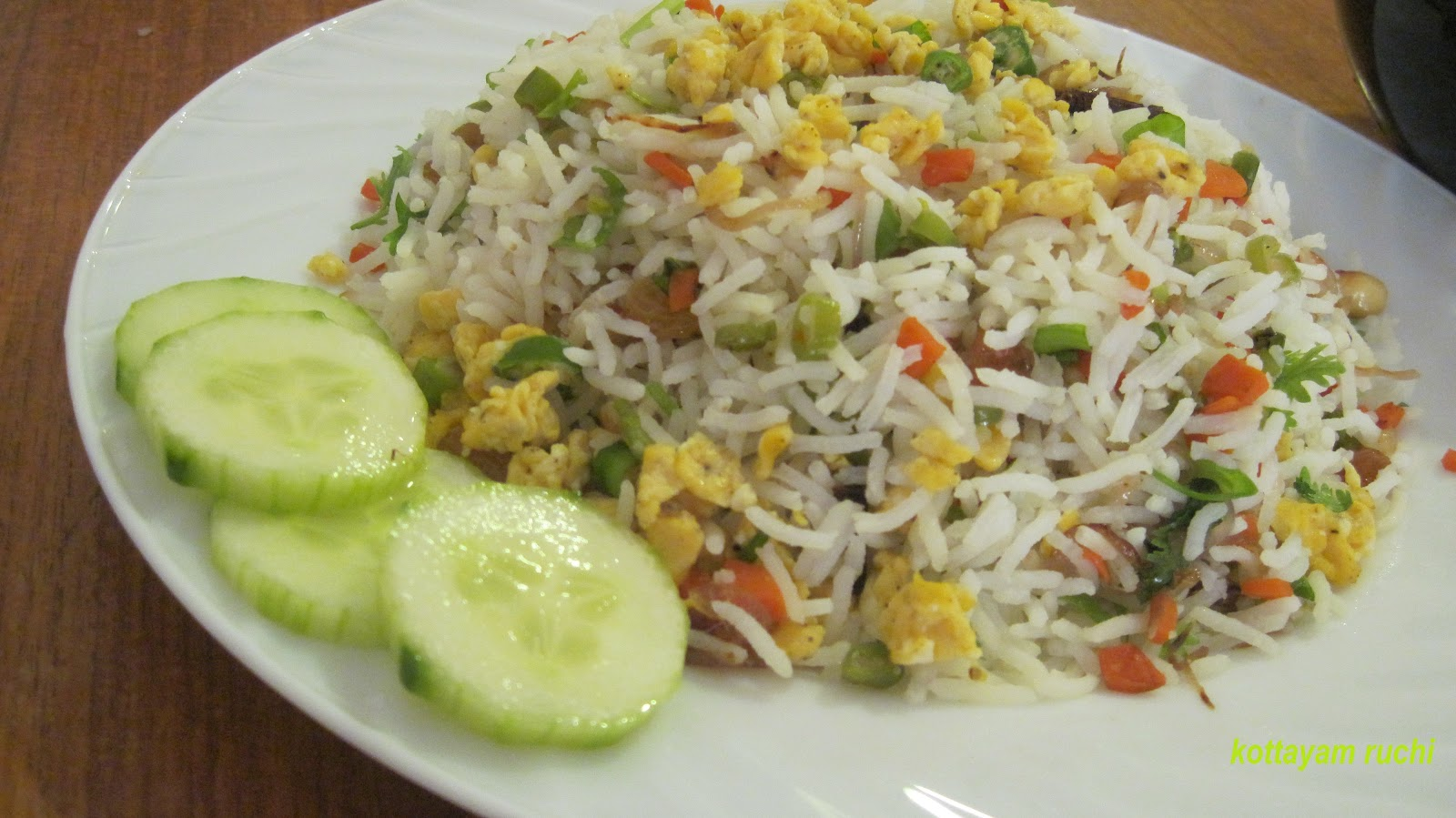 Kottayam ruchi egg fried rice kerala style egg fried rice kerala style ccuart Image collections
