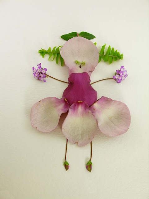 cute flowers petal artwork