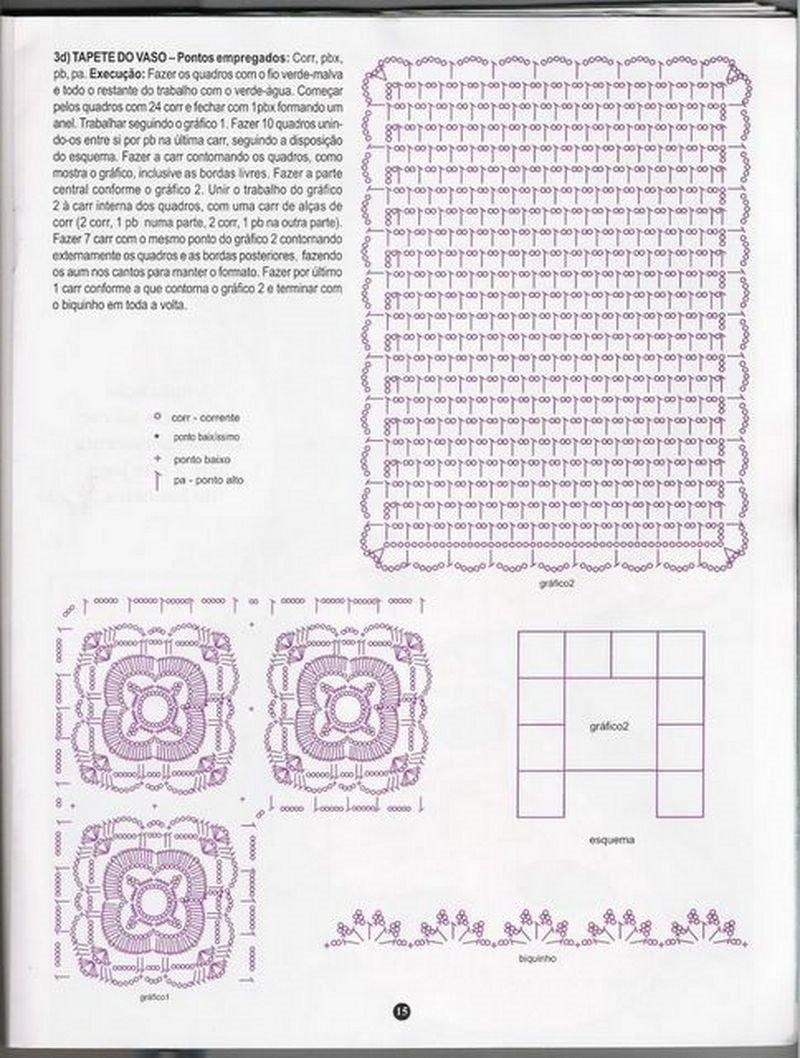 revista agulha na mão n°42 crochê banheiros | artemania