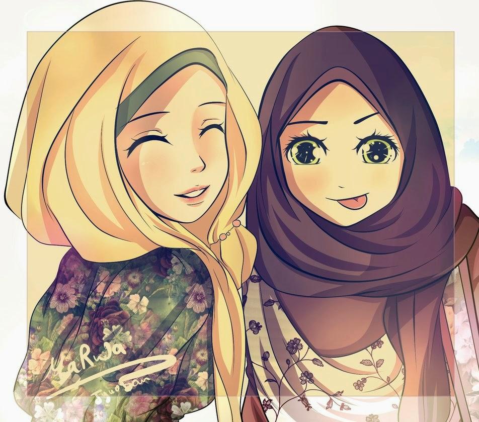 berbagi gambar gambar kartun islami koleksi admin emang baru dikit sih ...