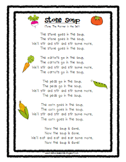 Wild image within stone soup story printable