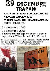 Anniversario rogo CPT Serraino Vulpitta