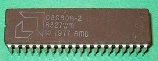 INTEL D8080A CDIP-40 8-Bit Microprocessor