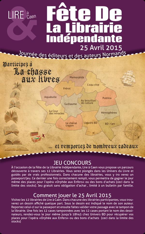 25 avril Fête de la librairie indépendante