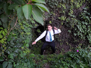 Elder Kitchen looks like he is in a jungle