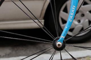 Single speed bicycle bike boylston st boston usa the biketorialist oury grips bmx style handlebar rust track frame