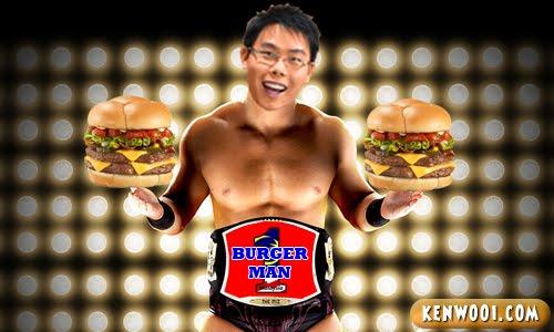 1malaysia burger man