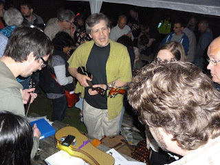 Uke Fest GB late night jamming