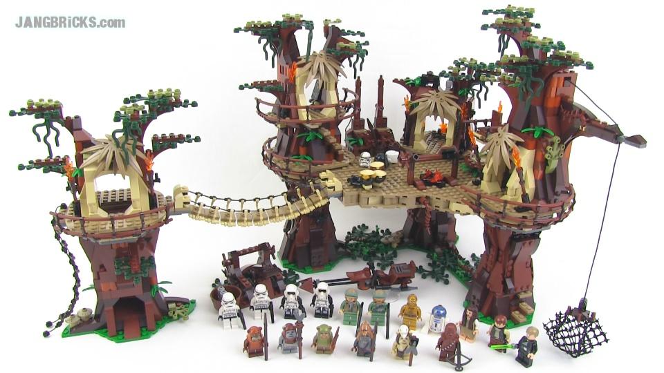 Lego Star Wars Ewok Village 10236 Full Review