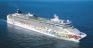 Norwegian Cruise Lines Sails from New York and Boston - Offering Discounts This week only. Ship Pictured: Norwegian Gem