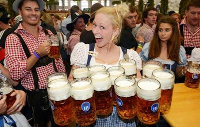 La Oktober Fest con la cerveza como protagonista
