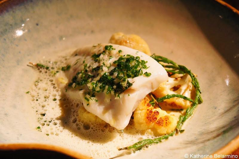 SK Mat & Människor Brill With Roasted Cauliflower Gothenburg Michelin Star Restaurant
