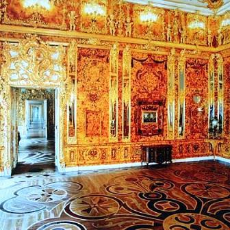 La Sala o Cámara de Ámbar (Old Amber Room)(Rusia).
